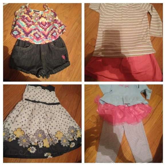 Other - 4 little girl outfits 18 months